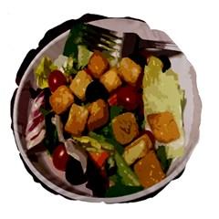 Salad 18  Premium Round Cushion  by Contest1852090