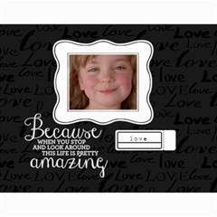Chalkboard Love   Inspirational Any Theme  Wall Calendar By Mikki   Wall Calendar 11  X 8 5  (18 Months)   Rn9cmdrfrity   Www Artscow Com Month