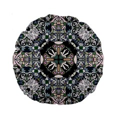 Stained Glass 15  Premium Round Cushion  by Contest1848470
