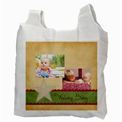 Baby By Baby   Recycle Bag (two Side)   2ktkc1ae1sow   Www Artscow Com Back