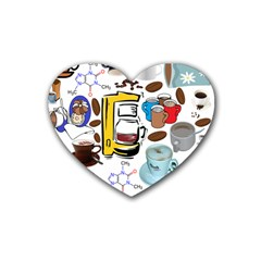 Just Bring Me Coffee Drink Coasters (heart) by StuffOrSomething