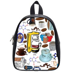 Just Bring Me Coffee School Bag (small) by StuffOrSomething