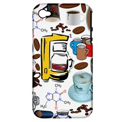 Just Bring Me Coffee Apple Iphone 4/4s Hardshell Case (pc+silicone) by StuffOrSomething