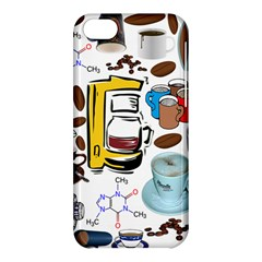 Just Bring Me Coffee Apple Iphone 5c Hardshell Case by StuffOrSomething
