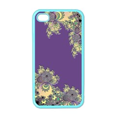 Purple Symbolic Fractal Apple Iphone 4 Case (color) by UROCKtheWorldDesign