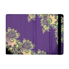 Purple Symbolic Fractal Apple iPad Mini Flip Case