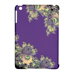 Purple Symbolic Fractal Apple Ipad Mini Hardshell Case (compatible With Smart Cover) by UROCKtheWorldDesign