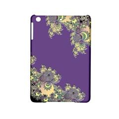 Purple Symbolic Fractal Apple Ipad Mini 2 Hardshell Case by UROCKtheWorldDesign
