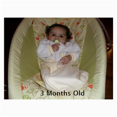 Newborn To One Comparison By Victoria   Collage 8  X 10    1rbrrb27z6sy   Www Artscow Com 10 x8 Print - 2