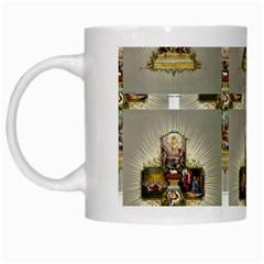 Easter Cross White Coffee Mug by EndlessVintage