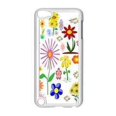 Summer Florals Apple Ipod Touch 5 Case (white) by StuffOrSomething