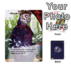 Magneto Manthing Nimrods Tmnt Villains By Mark   Playing Cards 54 Designs   2q7rcegfh8j8   Www Artscow Com Front - Club5