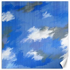 Abstract Clouds Canvas 12  X 12  (unframed) by StuffOrSomething