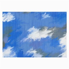 Abstract Clouds Glasses Cloth (Large, Two Sided) by StuffOrSomething