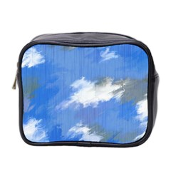 Abstract Clouds Mini Travel Toiletry Bag (two Sides) by StuffOrSomething