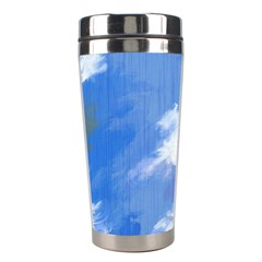 Abstract Clouds Stainless Steel Travel Tumbler by StuffOrSomething