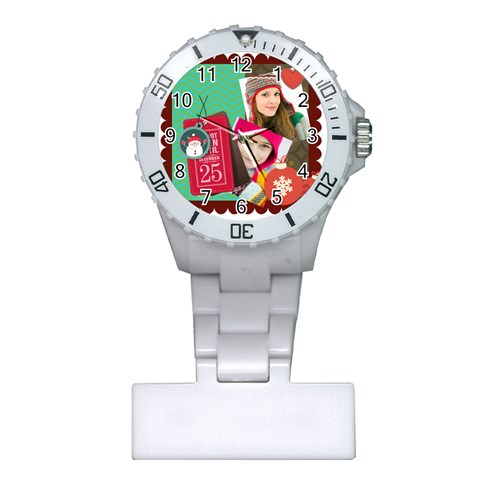 Xmas By Merry Christmas   Plastic Nurses Watch   X6pogubzhb4t   Www Artscow Com Front