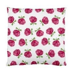 Pink Roses In Rows Cushion Case (single Sided)  by Contest1878042