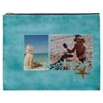 Beach Ocean Vacation XXXL cosmetic bag - Cosmetic Bag (XXXL)