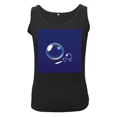 Bubbles 7 Women s Tank Top (Black)