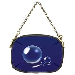 Bubbles 7 Chain Purse (two Sided)