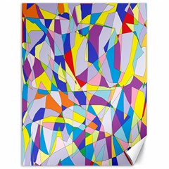 Fractured Facade Canvas 18  X 24  (unframed) by StuffOrSomething