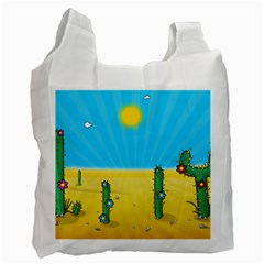 Cactus Recycle Bag (two Sides) by NickGreenaway