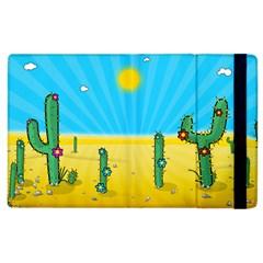 Cactus Apple Ipad 2 Flip Case by NickGreenaway