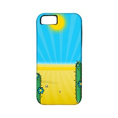 Cactus Apple Iphone 5 Classic Hardshell Case (pc+silicone) by NickGreenaway