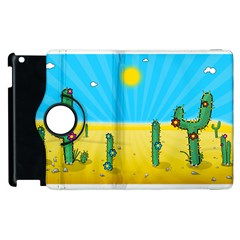 Cactus Apple Ipad 2 Flip 360 Case by NickGreenaway