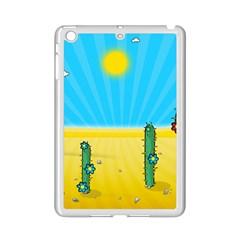 Cactus Apple Ipad Mini 2 Case (white) by NickGreenaway