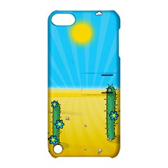 Cactus Apple Ipod Touch 5 Hardshell Case With Stand by NickGreenaway