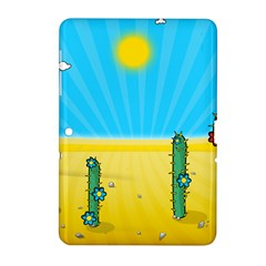 Cactus Samsung Galaxy Tab 2 (10 1 ) P5100 Hardshell Case  by NickGreenaway