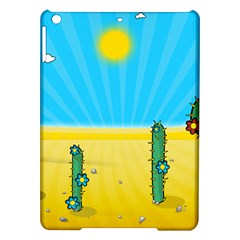 Cactus Apple Ipad Air Hardshell Case by NickGreenaway
