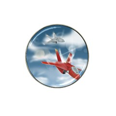 America Jet Fighter Air Force Golf Ball Marker 10 Pack (for Hat Clip) by NickGreenaway