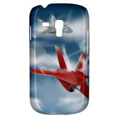 America Jet Fighter Air Force Samsung Galaxy S3 Mini I8190 Hardshell Case by NickGreenaway