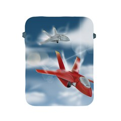 America Jet Fighter Air Force Apple Ipad Protective Sleeve by NickGreenaway