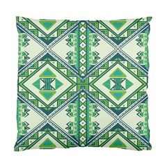 Green Pattern 2 Cushion Case (two Sided)  by Contest1759207