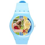 easter - Round Plastic Sport Watch (M)