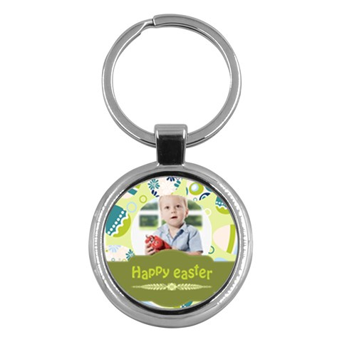 Easter By Easter   Key Chain (round)   Sgljtiuujbzr   Www Artscow Com Front