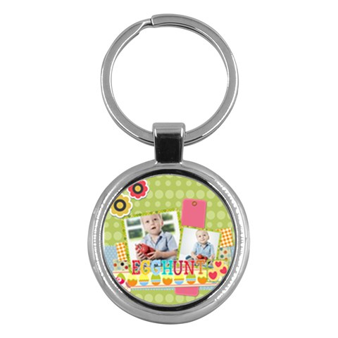 Easter By Easter   Key Chain (round)   Lnanl9b5kva6   Www Artscow Com Front