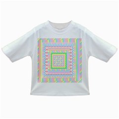 Layered Pastels Baby T Shirt by StuffOrSomething