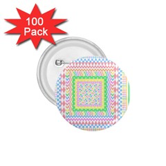 Layered Pastels 1 75  Button (100 Pack) by StuffOrSomething