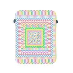 Layered Pastels Apple Ipad Protective Sleeve by StuffOrSomething