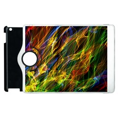 Colourful Flames  Apple Ipad 3/4 Flip 360 Case by Colorfulart23