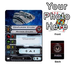 Queen Bsg Attack Wing By Michael   Playing Cards 54 Designs   Be3ef55tvyg5   Www Artscow Com Front - SpadeQ