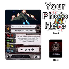 Bsg Attack Wing By Michael   Playing Cards 54 Designs   Be3ef55tvyg5   Www Artscow Com Front - Heart7