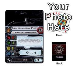 Bsg Attack Wing By Michael   Playing Cards 54 Designs   Be3ef55tvyg5   Www Artscow Com Front - Spade4