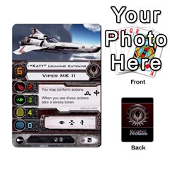 Bsg Attack Wing By Michael   Playing Cards 54 Designs   Be3ef55tvyg5   Www Artscow Com Front - Diamond2