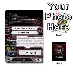 Bsg Attack Wing By Michael   Playing Cards 54 Designs   Be3ef55tvyg5   Www Artscow Com Front - Diamond7